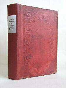 Colonel Jebb, Treatise on Attack & Defence of Outposts, Sieges, 1857-60 Plates