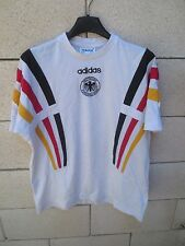 Maillot t-shirt coton ALLEMAGNE DEUTSCHLAND vintage ADIDAS trikot 90's 16a 176