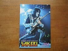 """KISS"""" Fan Club Japan Magazine SAKEBI Vol.8 January 2010 Booklet F/S"""