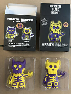Wraith Reaper LE 50 & 100 Berserker Black Market Francisco Pineda Plastic Empire