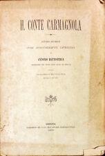 IL CONTE CARMAGNOLA - ANTONIO BATTISTELLA - 1889