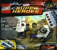 LEGO MARVEL SUPER EROI HULK 5003084 poliestere BNIP