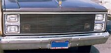For 1981-1988 GMC Chevrolet Polished Aluminum Grille