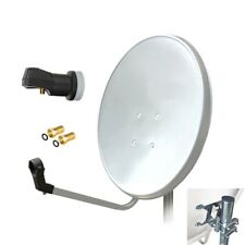 SATELITTE ANTENNA 80cm HD Digital Single LNB Satellite SAT KIT