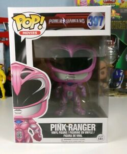 FUNKO POP Movies Power Rangers: Pink Ranger Action Figure #397 - BRAND NEW