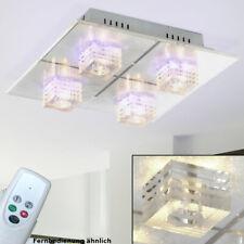 Energie Spar Decken Wohn Zimmer Leuchte Lampe Fernbedienung Deko LED Living-XXL
