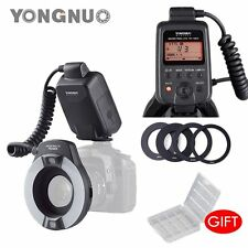 YONGNUO YN-14EX Macro Ring TTL LED Flash Light + Lens Adater for Canon Camera