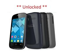 "Brand New Alcatel Pop C1 4015x 3.5"" Bluish Black Unlocked Aussie Stock"
