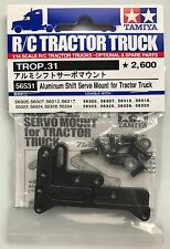 Tamiya 56531 Aluminium Servo De Maj Support pour tracteur camion Scania/HOMME