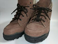 Nevados Men's Brown Leather Waterproof Hiking Boot Sz 9.5 Excellent Condition