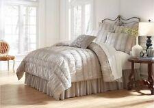 Studio D Serenade Gray Ruffled Twin Comforter