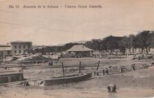 Postcard Alameda de la Aduana Custom House Alameda Cuba