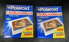 Vintage POLAROID 600 Platinum Instant Film_Two Packs_20 Photos Total_Exp. 1999