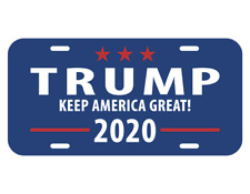 2020 TRUMP KEEP AMERICA GREAT License Car Plate Tag President MADE IN USA US NEW