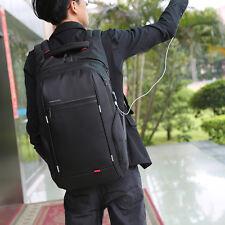 """15.6"""" Backpack Notebook Laptop Shoulder Bag Rucksack Shool Business Travel Pack"""
