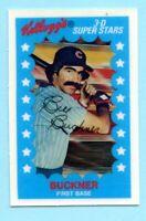 1982 Kelloggs  # 2 Bill Buckner