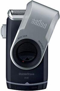 Braun M90 Mobile Shaver Rasierer Reiserasierer intg. Langhaartrimmer