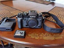 Used Fujifilm Fuji X-T2 24.3MP Mirrorless Digital Camera low shutter