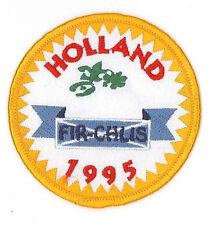 1995 World Scout Jamboree NETHERLANDS FIR-CHLIS SCOUTS Contingent Patch
