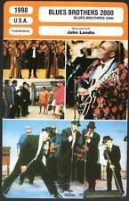 BLUES BROTHERS 2000 - Aykroyd,Goodman,Landis (Fiche Cinéma) 1998