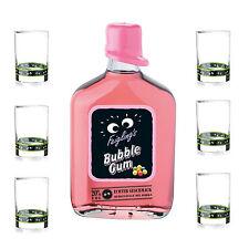 Kleiner Feigling Feigling´s Bubble Gum 20% 0,5l Partylikör + 6 Original Gläser