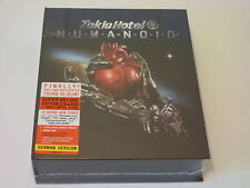 TOKIO HOTEL - HUMANOID (DELUXE CD+ DVD+ FLAG German SET) New & Sealed