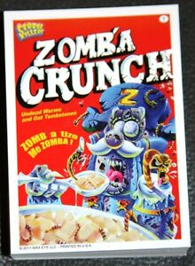 CEREAL KILLERS 1ST SERIES SET LIKE WACKY PACKAGES RARE