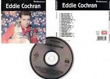 """EDDIE COCHRAN """"Blue Suede Shoes"""" (CD) 16 Titres 1991"""