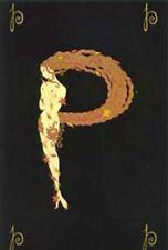 """Erte    (Romain De Tirtoff)     """"Letter P""""    MAKE OFFER  DSSBA"""