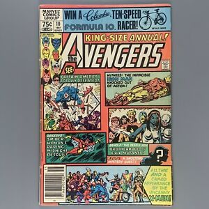 Avengers Annual 10 (1963) First appearance of ROGUE NEWSSTAND VG