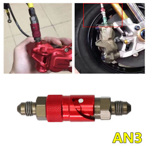 CNC AN3 Quick Release Connector Adapter Brake Line Coupling Motorcycle Fitting