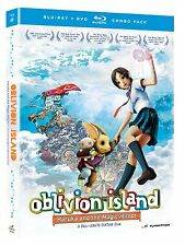 Oblivion Island . Haruka And The Magic Mirror . Anime . DVD + Blu-ray . NEU OVP