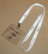 Sci Fi now known as Syfy rare Crew Lanyard & Card Holder Games Convention 2005