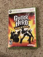 Guitar Hero: World Tour (Xbox 360) Complete With Manual