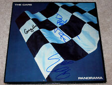 THE CARS BAND SIGNED AUTHENTIC RECORD ALBUM LP VINYL w/COA X4 RIC OCASEK