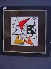"ALEXANDER CALDER ""DERRIERE LEMIROIR""LITHOGRAPH"" WE BOUGHT AT ART AUCTION IN 1983"