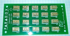 PARADOX Security Systems NVX80 BUS Multi-Plug 20 Board 143-1001-000 - NEW!