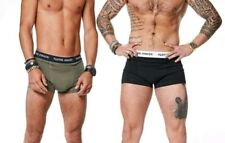 Lots of 6 Mens Cotton/Nylon Boxer Briefs Underwear Shorts Sport Mix Brand S-3XL
