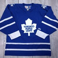 Vintage CCM NHL Toronto Maple Leafs Hockey Jersey Mens Large Stitched LS121