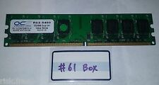 OCZ 1GB 667MHZ DDR2 PC2-5400 RAM Memory OCZ26672048VDC-K
