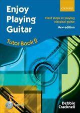 Enjoy Playing Guitar Tutor Book 2 + CD Next steps in playing cl... 9780193381407