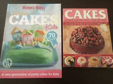 """""""More Cakes For Kids"""" Women's Weekly & """"Cakes & Cake Decorating Step by Step"""""""