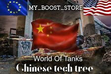 World of Tanks (WoT) - |ANY CHINESE TIER 10 TANK | 7 Days | Not Bonus Code |