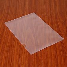 5PCS L Shape Paper File Folder Document Bag A4 Size For Office &Study Supply Set