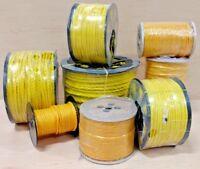 "Yellow Poly Polypropylene Utility Rope 3/16 1/4 3/8 1/2 5/8 3/4 1"" 100 600 1200"