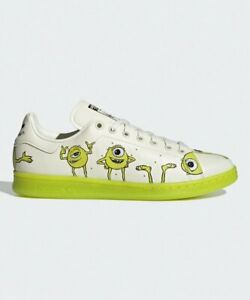 Adidas Stan Smith Shoes Men's Sneakers Disney's Kermit Classic Design FZ2706
