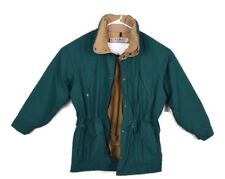 Vtg LL Bean Mens Green Maine Wardens Parka USA Gore-Tex Jacket Missing Hood Sz M