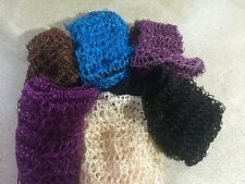 Genuine Sturdy Heavy Duty Traditional Sleep-in Hair Net Choice Of Colours