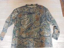 MEN'S  Cabellas Camoflauge Long Sleeve Shirt XL Regular Seclusion 3D