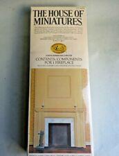 HOUSE OF MINIATURES FIREPLACE KIT ~ RARE